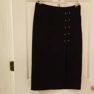 Forever 21 sexy pencil skirt high slit